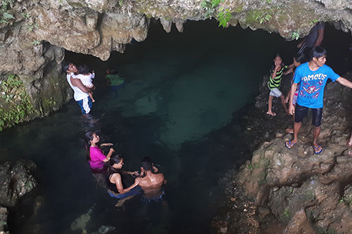 Hitoog Cave in Matalom, Leyte