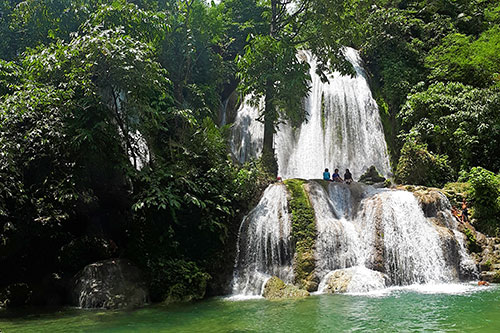 Karap-agan Falls in Sitio Mahayahay in Barangay