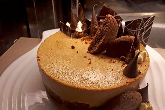 Biko Latik Mousse Cake
