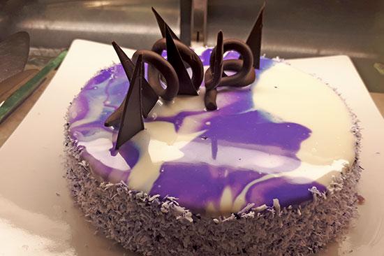 Ube Mousse Cake
