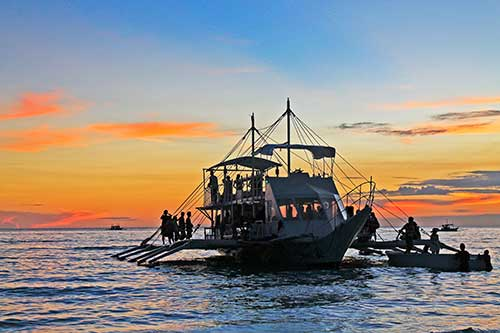 Boracay boat tour