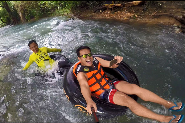 Tubing at Bugang River