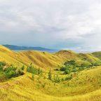 The rolling hills of Mararison Island