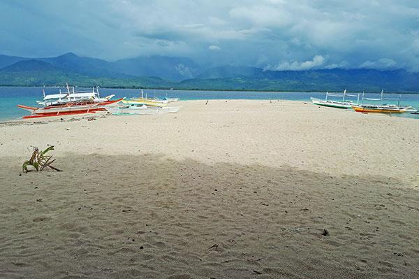 Mararison Island sand bar