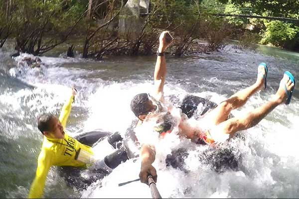 Water tubing at Malumpati and Bugang River