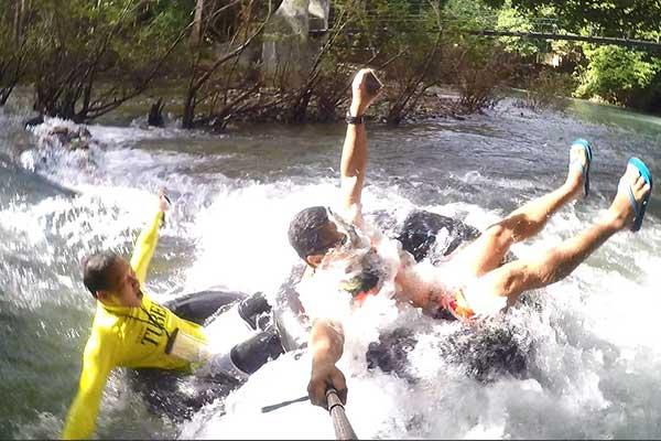 Water tubing at Malumpati and Bugang River