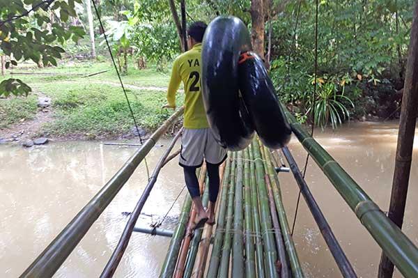 Malumpati Health Spring Resort Tubing Guide