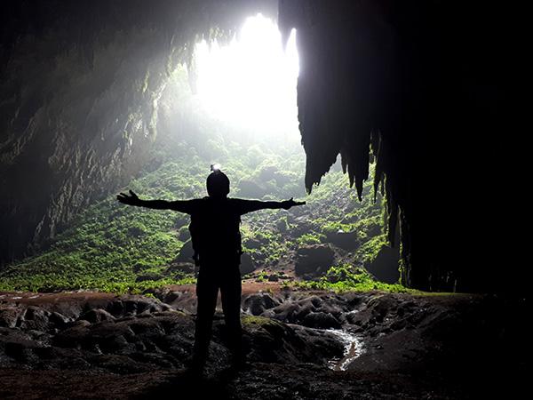 Mouth of Langun Cave