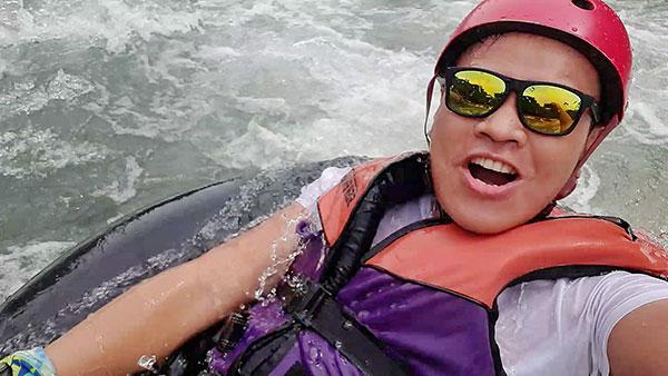 Tibiao River Water Tubing