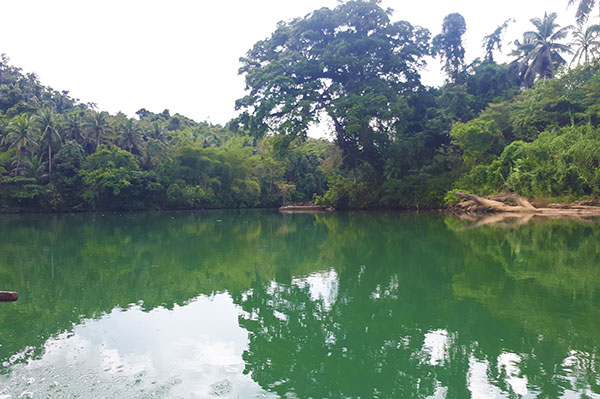 A calm portion of Ulot River