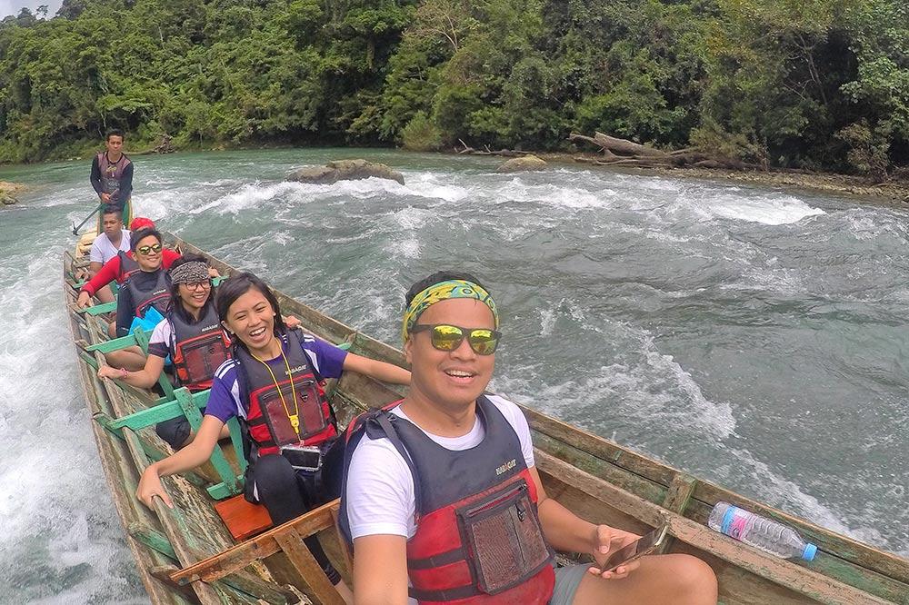 Torpedo extreme boat ride in Paranas, Samar