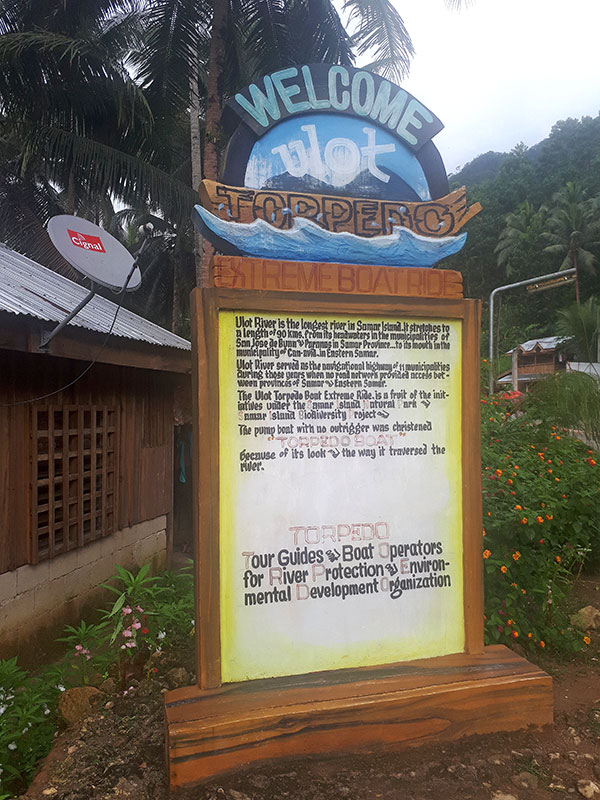 TORPEDO/SINP Office marker in Sitio Campo Uno, Barangay Tenani