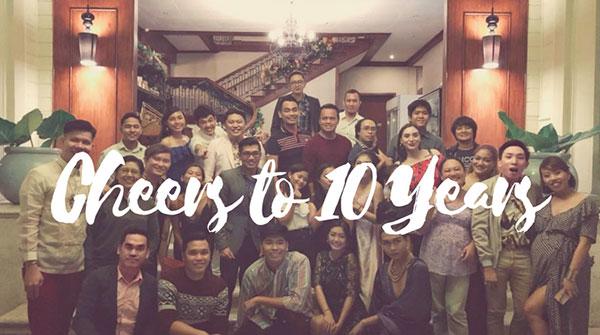 Cheers to the 10 Years of inexhaustible Journey CBS