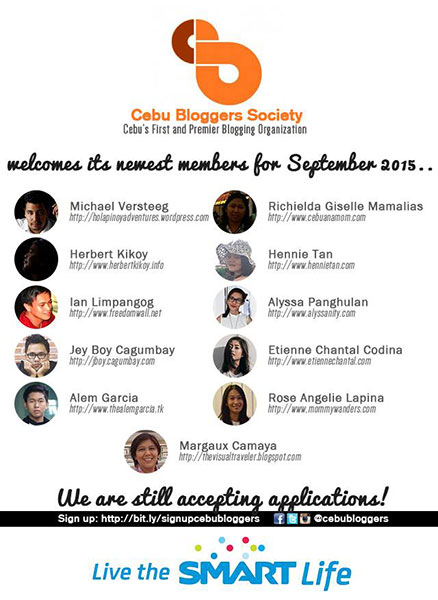 CBS New Member Announcement, September 2015