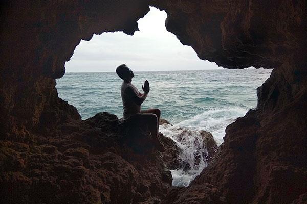 Donna Cave, Liog-liog Cove, Carnaza Island
