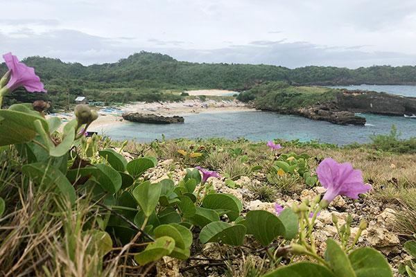 Liog-liog Cove in Carnaza Island