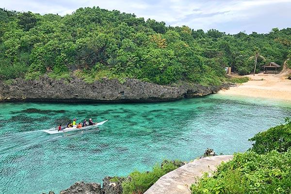 Carnaza Island's Skull Cove