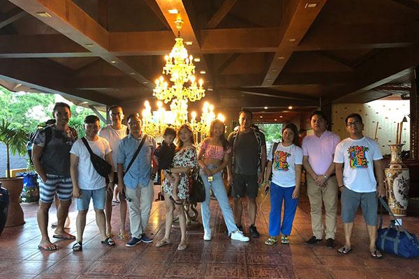 Delegates from Cebu, a good bye photo.