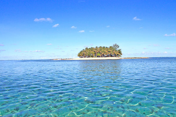Guyam Island in General Luna, Siargao