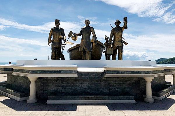 Punto de Dissembarco De Rizal en Dapitan, Rizal's landing site