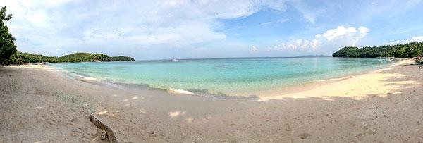 Subic Beach, Calintaan Island, Matnog Sorsogon