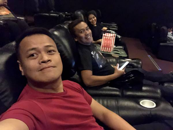 We got a change to watch Alita at the Director's Club Cinema of SM Seaside City Cebu