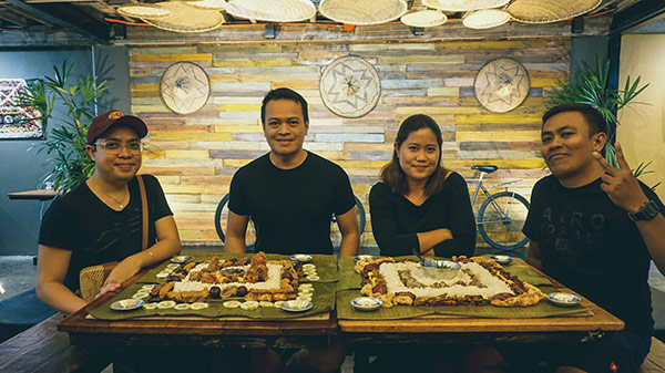 Boodle Art Experience with Xerxes Bernadez, Ian Limpangog, Leylan Romarate, and Guada Cuizon