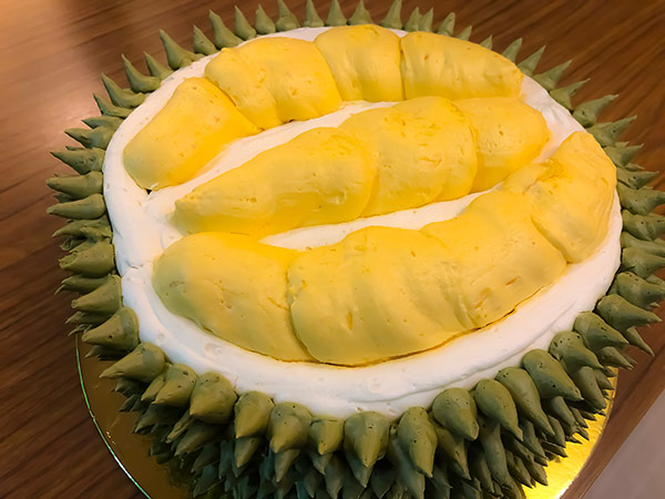 Dessert Studio's Durian Cake: This is a must-try