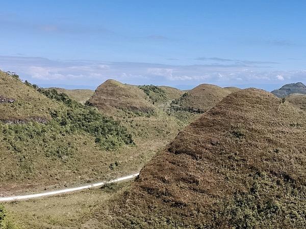 The stunning array of mounds in Hinakan, Guihulngan City