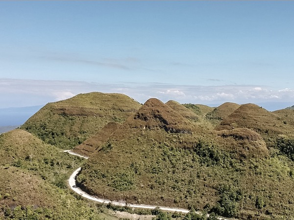Hinakpan Mystical Hills and its beautiful resemblance with Bohol's Chocolate Hills.