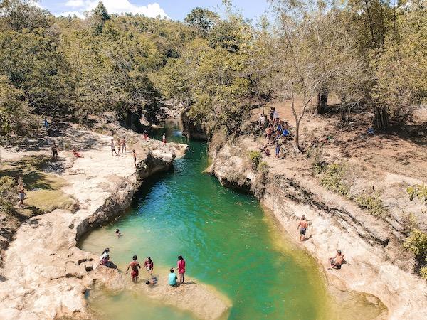 The emerald waters of Kansalakan Enchanted makes it regal.