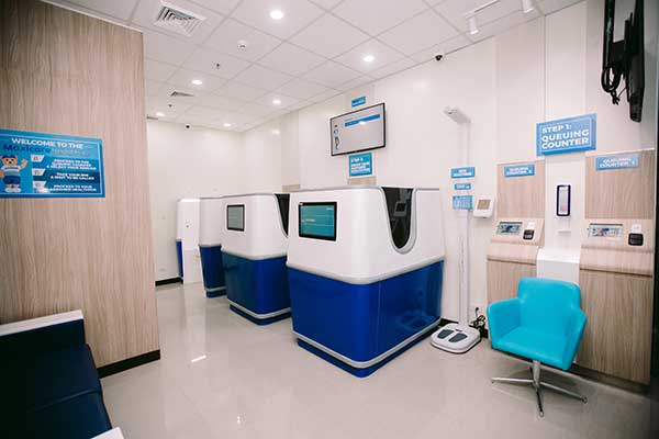 Inside Maxicare's Health Hub in Robinsons Galleria Cebu