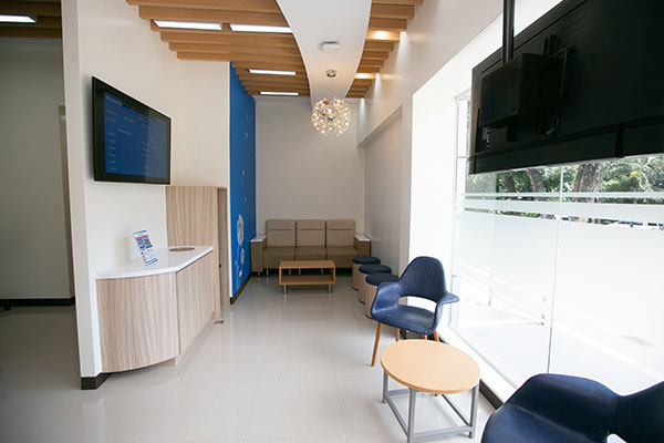 Primary Care Center waiting area