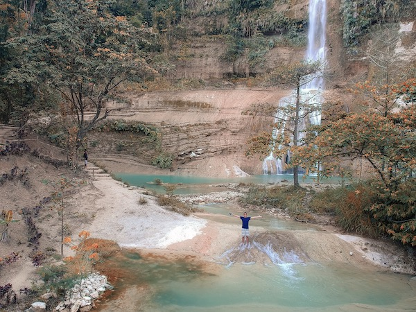 The stunning Can-umantad Falls