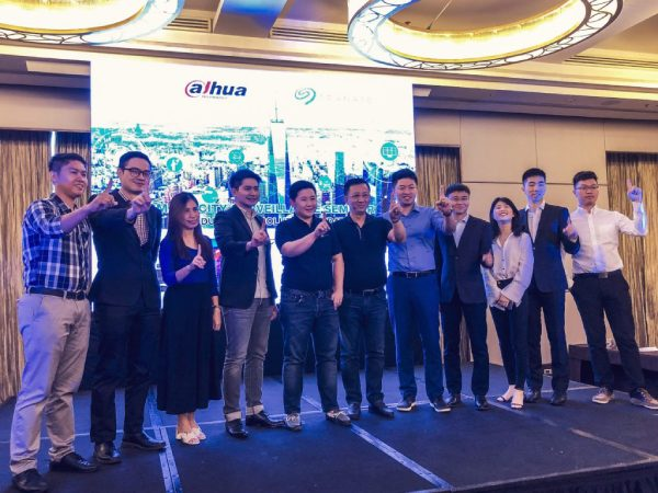 Seagate and Dahua Officials and Speakers during the Smart City Surveillance Seminar last May 23, 2019 at Radisson Blu