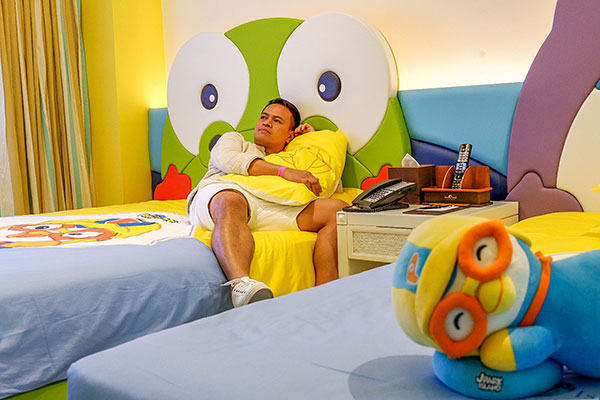 Pororo-inspired suite at Jpark Island Resort and Waterpark