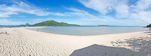 Bulobadiangan Island sandbar in Concepcion, Iloilo