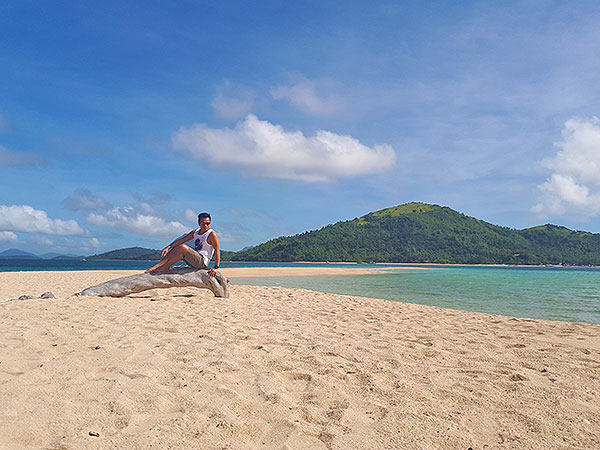 Another view of Bulobadiangan Island sandbar in Concepcion, Iloilo