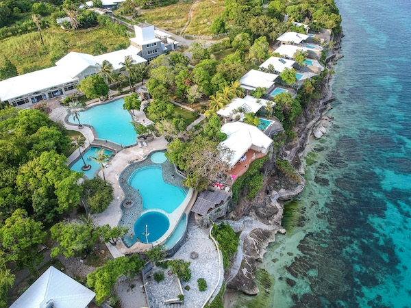 Aerial photo of Antulang Beach Resort