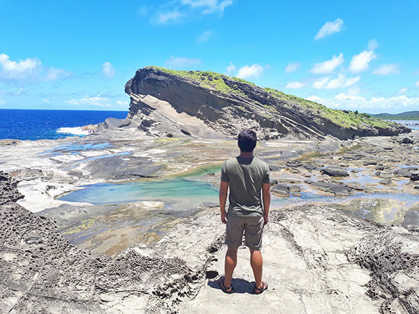 Biri Island and Rock formations