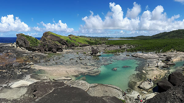 The bewitching Biri Rock Formations and tidal pool