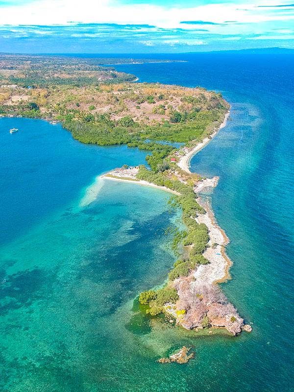 Turtle Island, Barangay Siit, Siaton