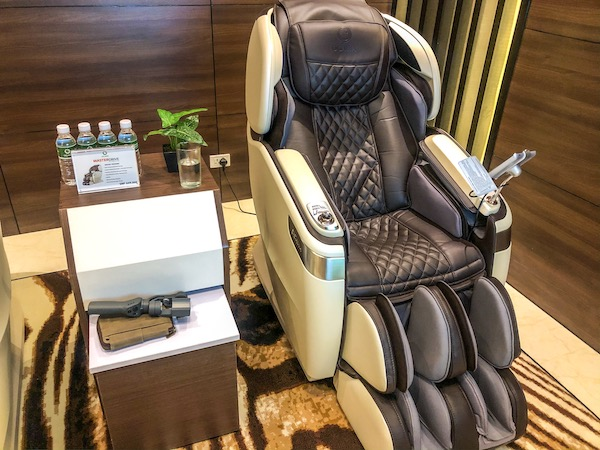 The Master Drive 4D Thermo Chair is OGAWA's most advance product offering