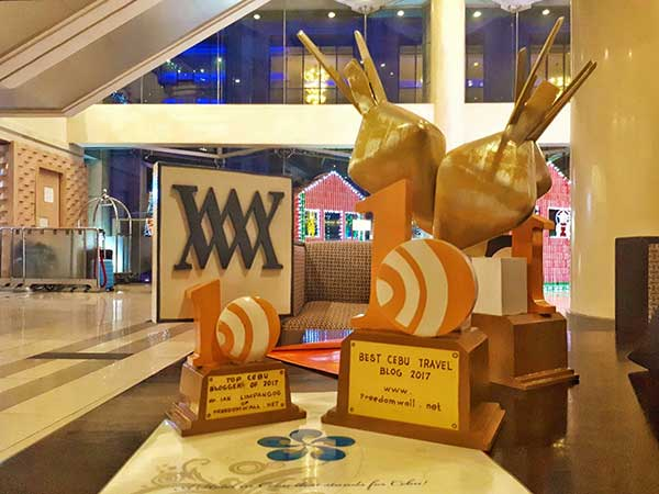 Freedom Wall won the 2017 Best Cebu Travel Blog and Top Cebu Blog/Blogger of the Year