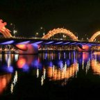 Cau Rong or the Dragon Bridge, Da Nang, Vietnam