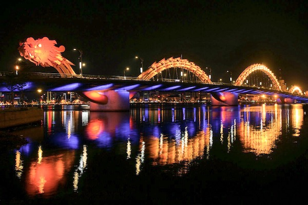 Cau Rong or the Dragon Bridge, Da Nang, Vietnam