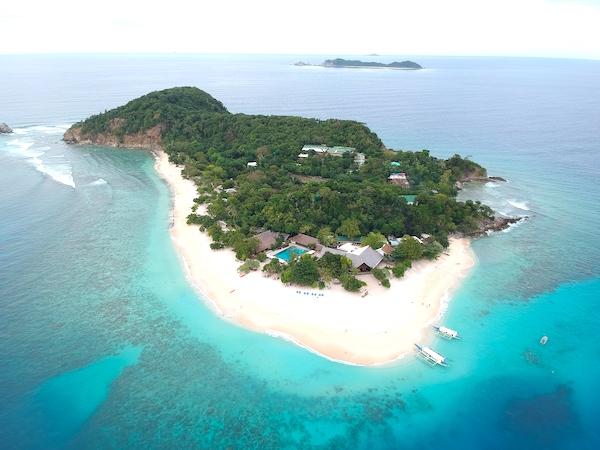 Dimakyat Island, the home of Club Paradise Palawan