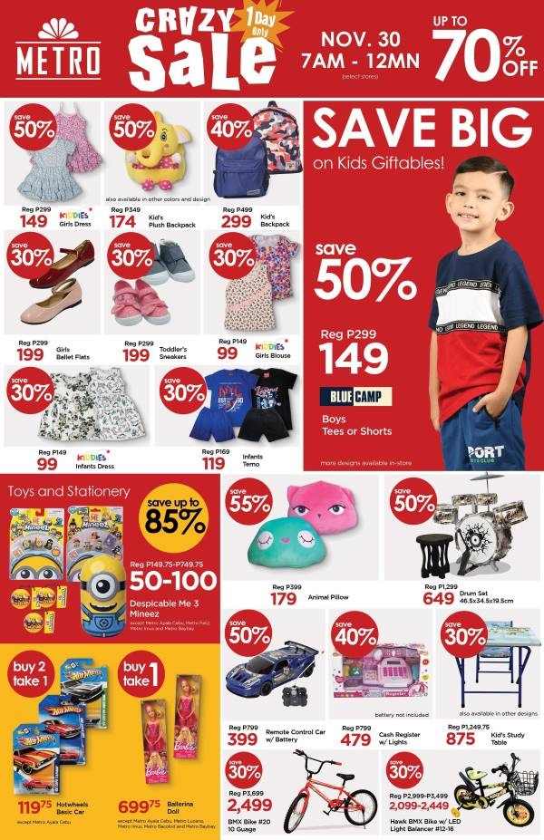 Kids Fashion Discounts Metro Crazy Sale