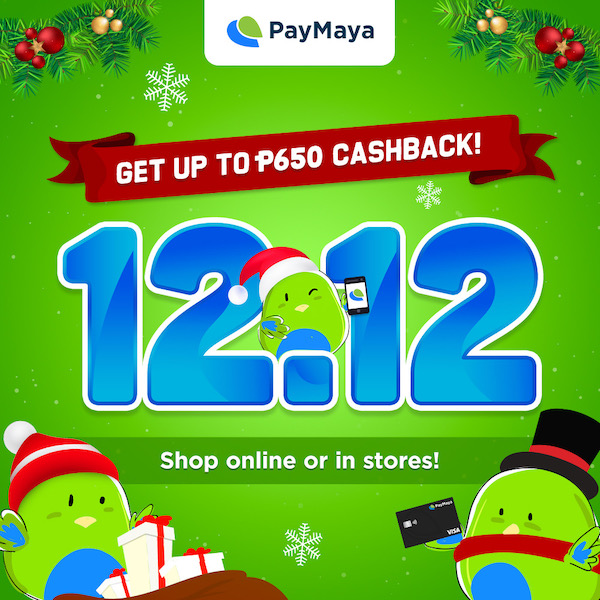 Shop more and save more with PayMaya this 12.12 Sale