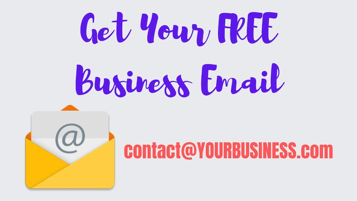 Free email address with custom domain
